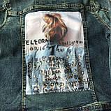 Джинсовая курточка на девочку подростка 9. Размер 10 лет, 11 лет, 12 лет, 13 лет, 14 лет, фото 3
