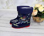 Дитячі гумові чоботи для хлопчика, фото 2