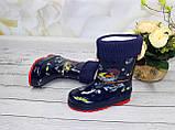 Дитячі гумові чоботи для хлопчика, фото 3