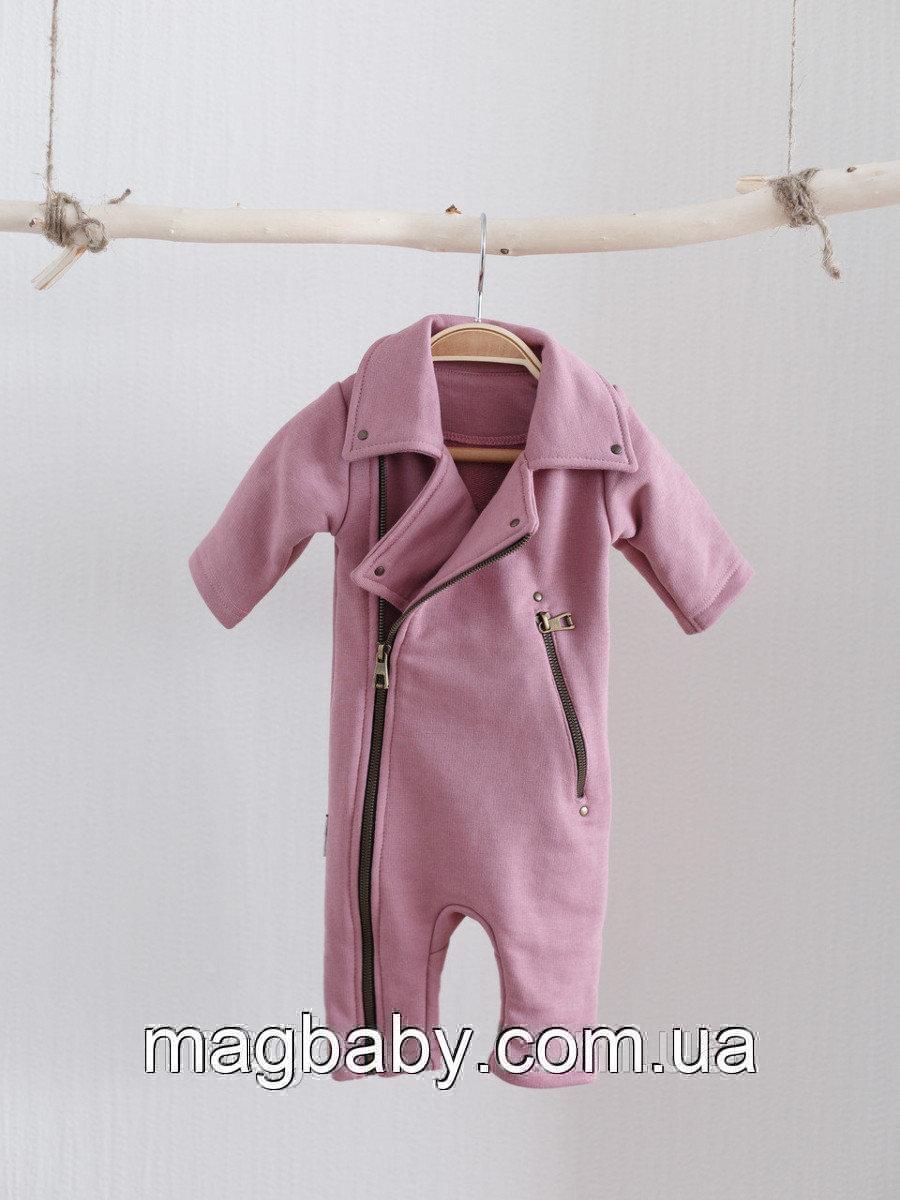 Комбинезон Vortex, пыльно-розовый