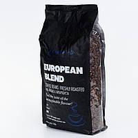 Зерновой кофе European blend 17/18scr Купаж (40% Арабика, 60% Робуста) 1000г. Бразилия, Вьетнам