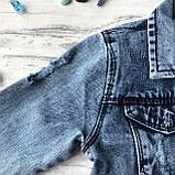 Джинсовая куртка на мальчика подростка 3. Размер 10 лет, 11 лет, 12 лет, 13 лет, 14 лет, фото 5
