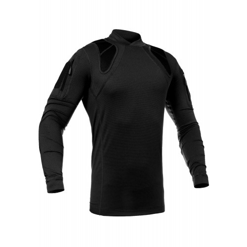"""Рубашка тренировочная полевая """"FRS-DELTA"""" (Frogman Range Shirt Polartec Delta), [1149] Combat Black"""