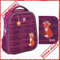 Рюкзак школьный каркасный Kite Education Fox 31 л K20-531M-3