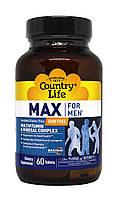 Мультивитамины и Минералы для Мужчин, Max for Men, Country Life, 60 таблеток