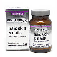Комплекс для волос, кожи и ногтей, Beautiful Ally, Bebonnet Nutrition, Hair, Skin & Nails, 60 капсул