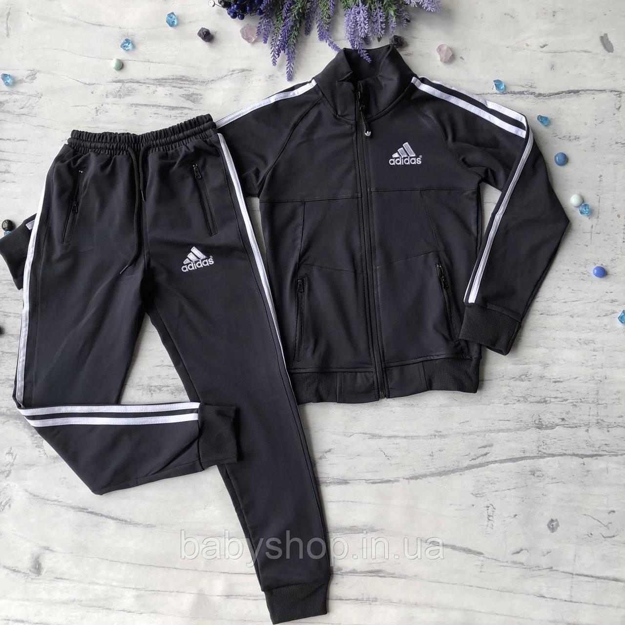 Теплый костюм на мальчика в стиле Adidas 170. Размер 128 см, 140 см, 152 см, 164 см