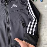 Теплый костюм на мальчика в стиле Adidas 170. Размер 128 см, 140 см, 152 см, 164 см, фото 3