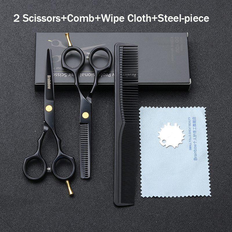 Brainbow 5,5 дюймів 14см комплект перукарських ножиць для стрижки волосся BHT045