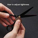 Brainbow 5,5 дюймів 14см комплект перукарських ножиць для стрижки волосся BHT045, фото 4