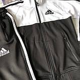 Теплый костюм на мальчика в стиле Adidas 171. Размер  140 см,  164 см, 176 см, фото 2