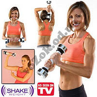 Тренажер виброгантеля Shake Weight Women (Шейк Уэйт Вейт) для женщин с DVD-диском
