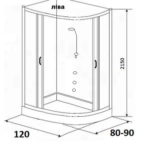 Гідробокси розміром 120х80, 120х90