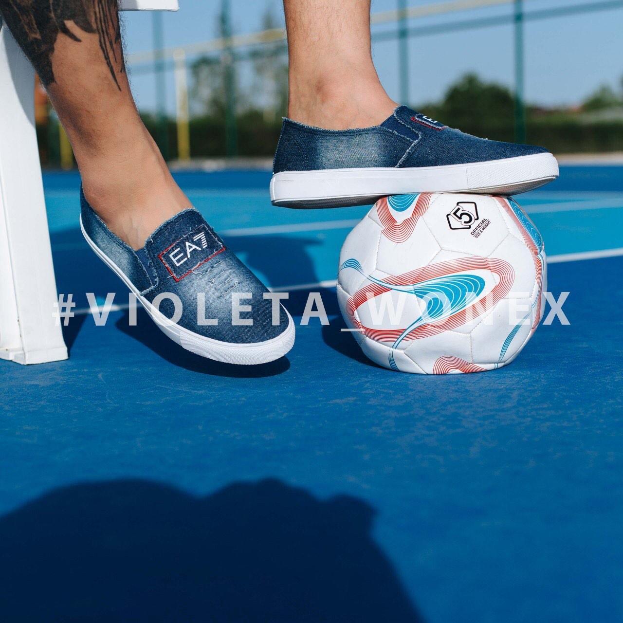 Слипоны Violeta 46-42 d.blue