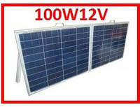 100W12V солнечная станция переносная, фото 1