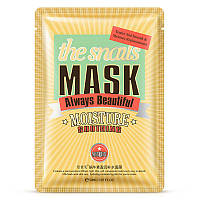 Тканевая маска для лица с муцином улитки Bioaqua Always Beautiful Snail Mask 30 г