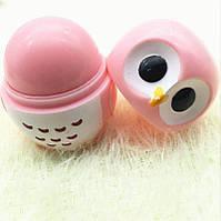 Ароматизований бальзам для губ EOS ЕОС Сова Фруктовий Рожевий 30 г