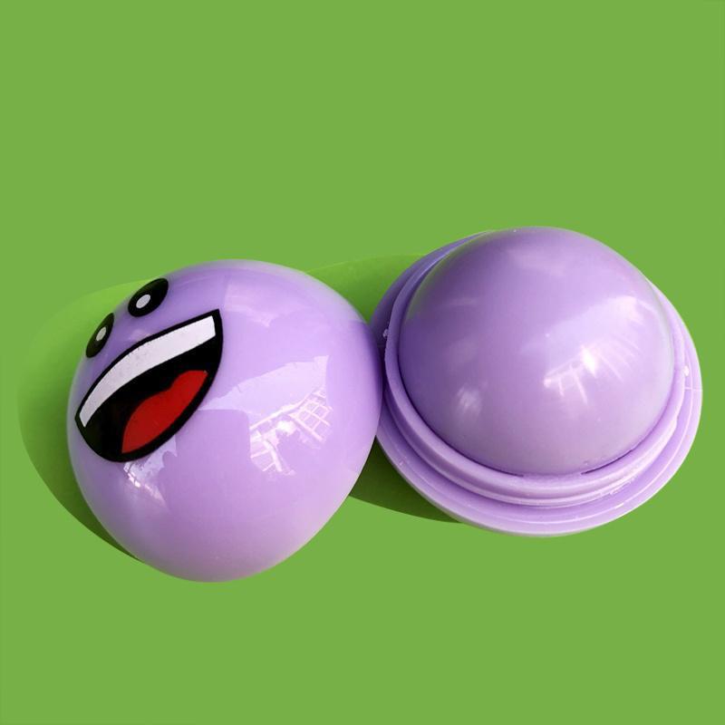 Ароматизированный бальзам для губ EOS ЕОС Smile Смайл Фиолетовый 20 г