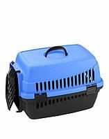 Переноска для животных Senyayla 50x32x32 см (голубая)