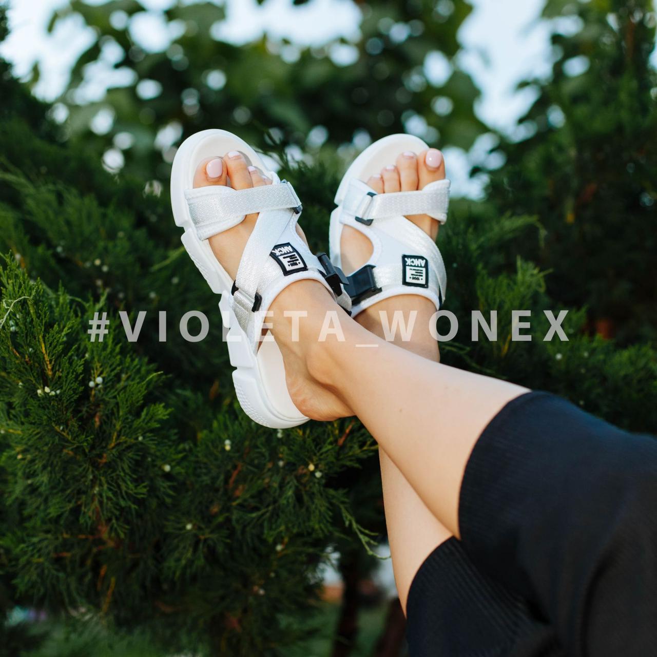 Шлепанцы Violeta 98-29 white
