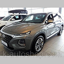 Молдинги на двері для Hyundai Santa Fe Mk4 2018+