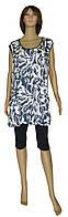 NEW! Летние женские блузы - туники больших размеров - серия Dina Batal коттон ТМ УКРТРИКОТАЖ!