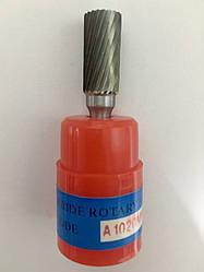 Борфреза (шарошка) цилиндрическая форма A, с одинарной заточкой A1020M06