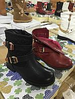 Детские ботинки с ажурными вставками Размеры 30-36