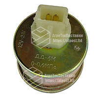 Датчик давления масла МТЗ ДД-6-М (2 фишки). Датчик тиску масла МТЗ