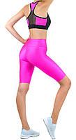 Одежда для фитнеса, спортивный комплект (велосипедки женские и топ) Valeri 4008.1/2004.1 розовый