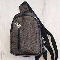 Рюкзак-слінг розмір 21*14*7 хакі, фото 1