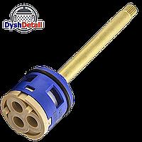Картридж для смесителя душевой кабины на три ( 3 ) положения 33 мм диаметром длиной штока 85 мм.