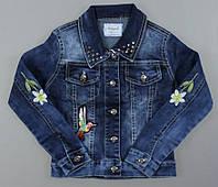 Джинсовая курточка для девочек Seagull оптом,134-164 рр.Артикул: CSQ89988