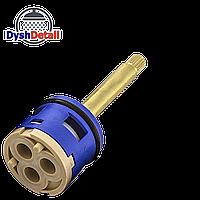 Картридж для смесителя душевой кабины на три положения 33 мм диаметром и 55 мм длиной штока