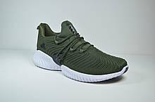 Чоловічі кросівки хакі Adidas Alphabounce Instinct (5165 - 3)