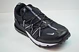 Чоловічі кросівки чорні з білим Nike 1170 - 1, фото 3