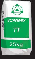Стартовая фасадная шпаклевка SCANMIX ТТ(серая)