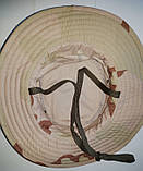 Шляпа летняя (хлопок) камуфлированная с широкими полями. Плотная, фото 6