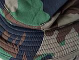 Шляпа летняя (хлопок) камуфлированная с широкими полями. Плотная, фото 4