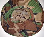 Шляпа летняя (хлопок) камуфлированная с широкими полями. Плотная, фото 5