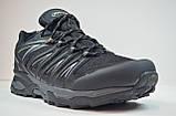 Чоловічі кросівки демісезонні чорні Restime 20879, фото 3