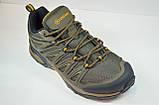 Мужские кроссовки демисезонные хаки Restime 20879, фото 2