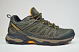 Мужские кроссовки демисезонные хаки Restime 20879, фото 3