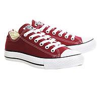 Кеды Converse Style All Star Maroon Бордовые (39р) Тотальная распродажа