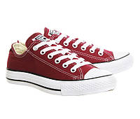 Кеды Converse Style All Star Maroon Бордовые (42р) Тотальная распродажа