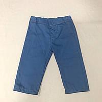 Брюки темно-синие на мальчика р.68 (3-6 мес)