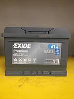 Автомобильный аккумулятор Exide Premium Емкость: 61Ah