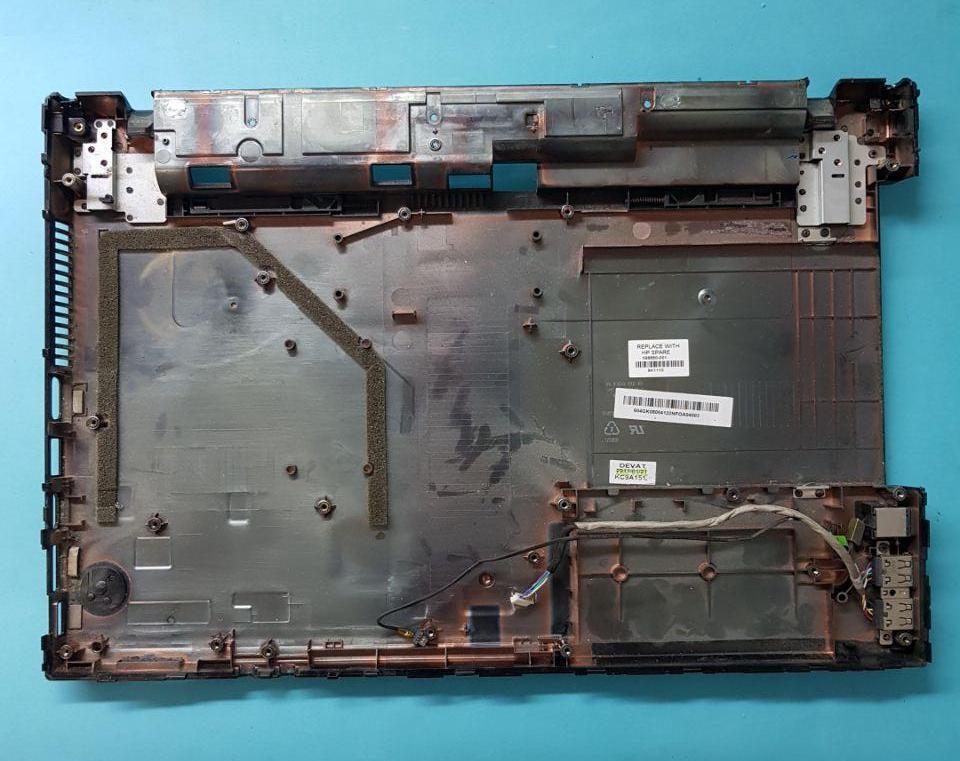 Корыто днище корпуса  корпус Разборка ноутбука HP 4520S