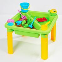 Детский столик-песочница с крышкой М 1870
