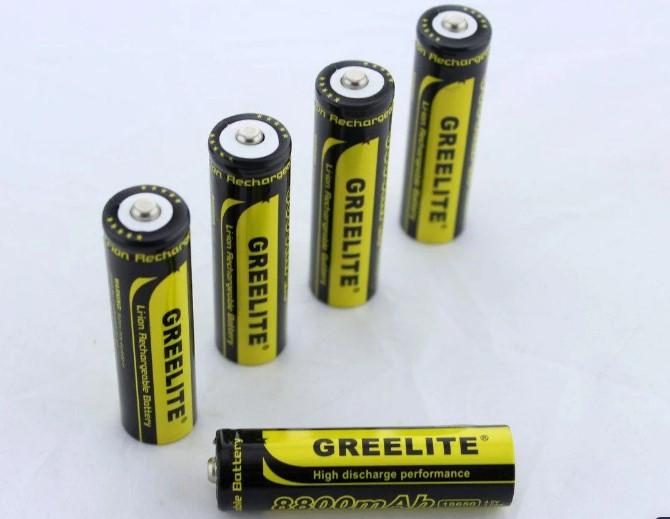 Батарейка Battery 18650 Black Greelite